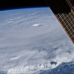 Hurricane Earl from ISS
