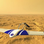 Robotic plane to study Mars