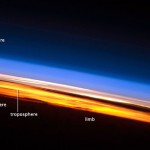 Sunset Seen from the ISS