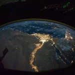 Nile in Light from ISS