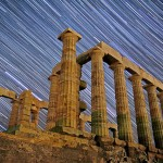 Poseidon Temple in Athens Sounio