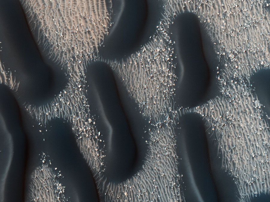 Proctor Crater on Mars