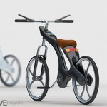 Ecodrive bicycle concept with iPhone