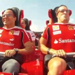 Felipe Massa and Fernando Alonso ride World's Fastest R...