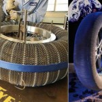 Goodyear Spring Tire- tested on a Lunar Rover