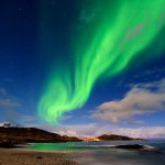 Green Aurora over Tromso, Norway