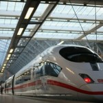 High Speed Deutshe Bahn ICE3 Train at 200mph