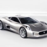 Jaguar C-X75 Electric Super Car Concept