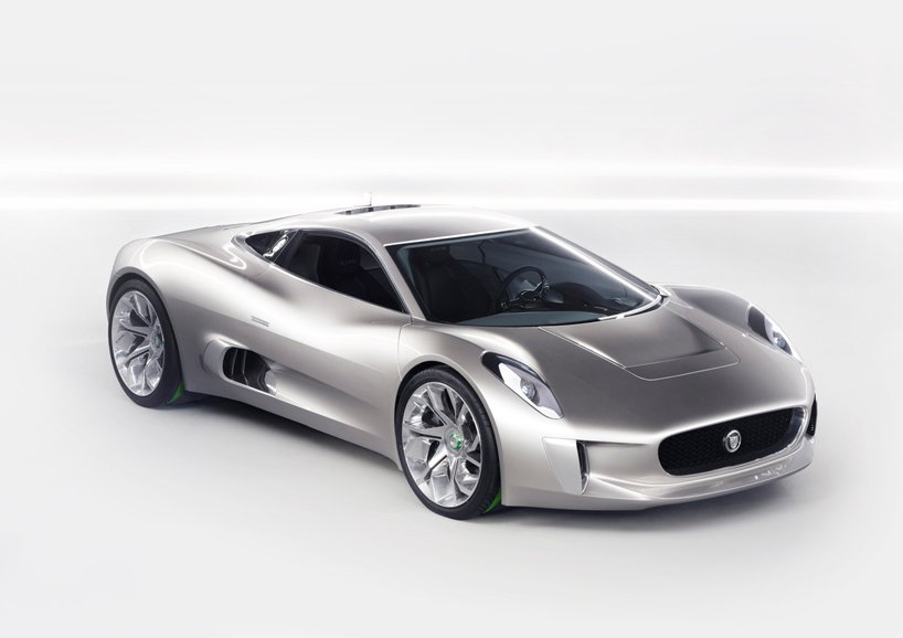Wordlesstech Jaguar C Electric Super Car Concept