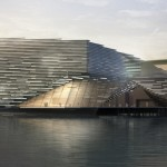Kengo Kuma winning design for Victoria and Albert new M...