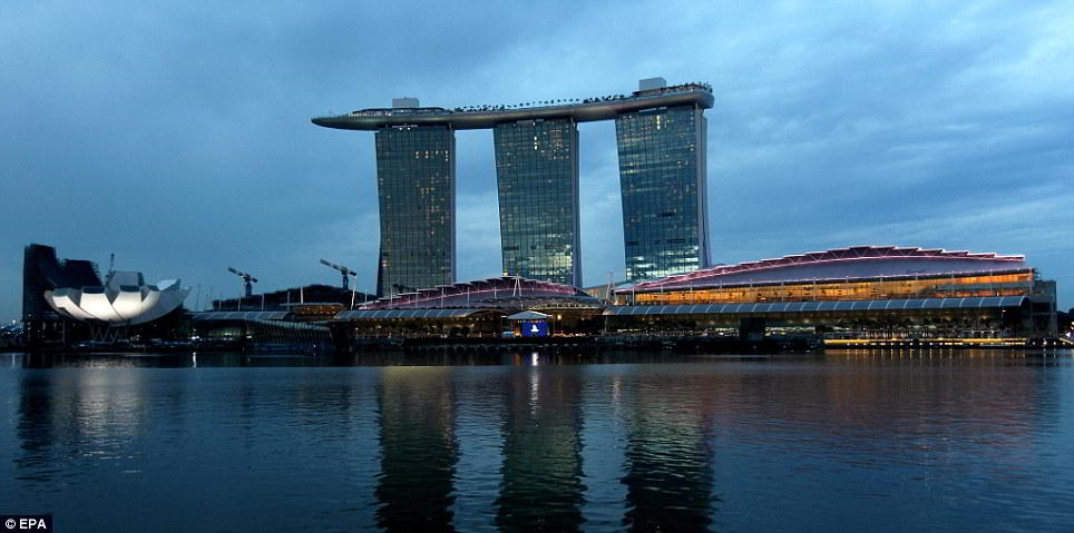 Wordlesstech Marina Bay Sands Hotel In Singapore