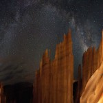 Milky Way over Bryce Canyon