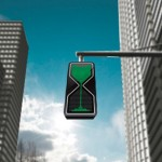 Sand Glass LED Traffic Lights