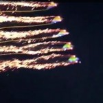 Spectacular Kites With fireworks (video)