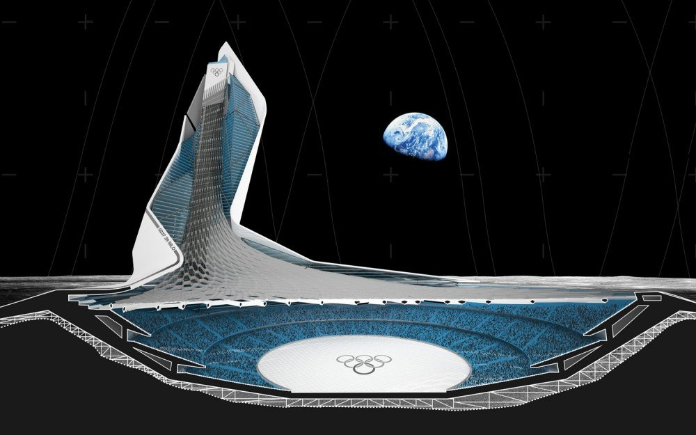 Stadium of Lunar Olympics