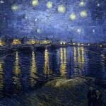Starry Night Over the Rhone (van Gogh)