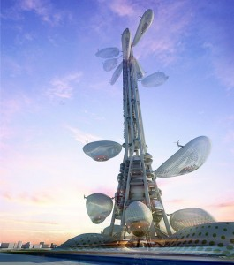 Taiwan Tower Floating Observatories