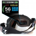Ski Goggles with Heads Up Display And GPS