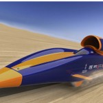 Bloodhound Supersonic Car for Landspeed Record (video)
