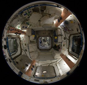 Inside of Space Station