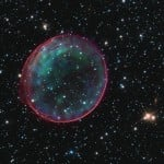 Hubble Supernova Bubble for Christmas