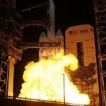 Largest Rocket lifts Largest Satellite ever (video)