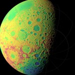 LRO is creating precise topographic map of the Moon