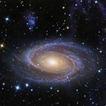 Beautiful Spiral M81 Galaxy similar in size to our Milk...