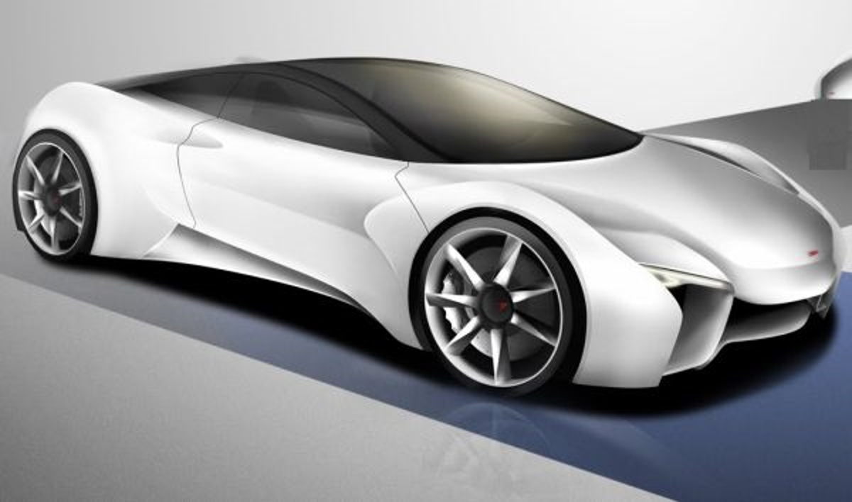 McLaren Sports Car concept designed by Gabriel Tam is a twoseat