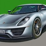 New Porsche's Supercar