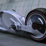 Snake Road Motorcycle Made from Fiberglass