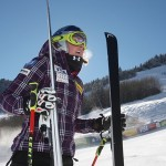 Speed Skiing Reflex Training