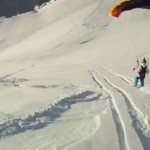 Speedflying in Wengen (2 videos)