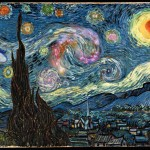 van Gogh's starry night scavenger hunt