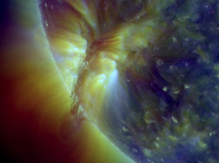 Sun's Plasma Eruption