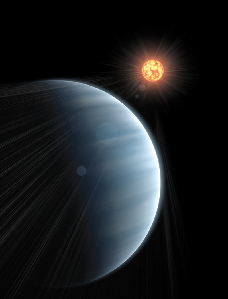 Super-Earth GJ 1214b exoplanet
