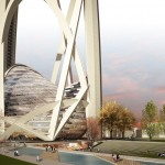 Taiwan Tower International Competition- 9 Arches
