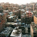 A Garbage City rises outside of Cairo