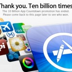 Apple says we've Downloaded 10 Billion Apps