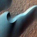 Arkhangelsky Crater Dunes on Mars