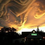 Asperatus new class of clouds in New Zealand