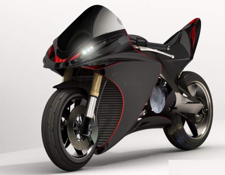 Biofuel Powered Concept Sports Bike