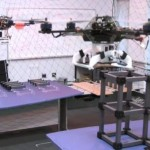 Construction with Quadrocopters (video)