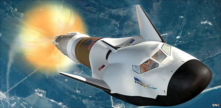 Dream Chaser vehicle