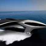 Ekranoplane- a yacht that can fly (video)