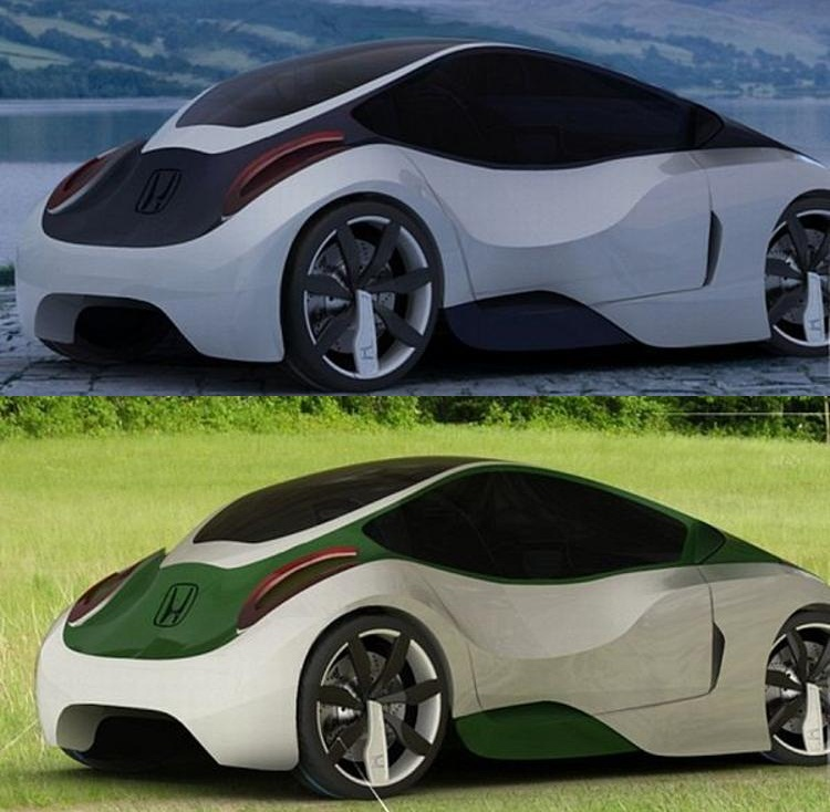 honda native concept the color changing car wordlesstech. Black Bedroom Furniture Sets. Home Design Ideas