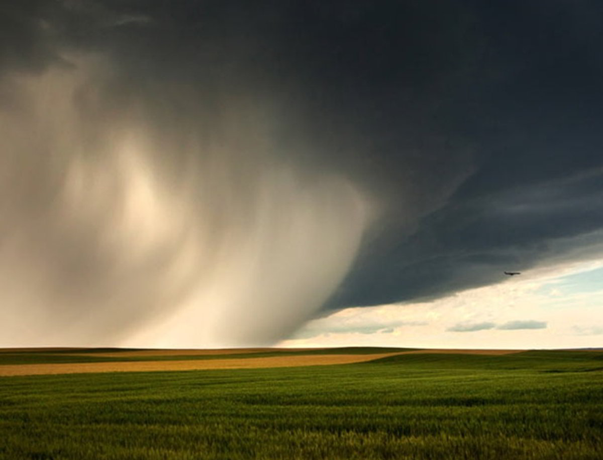 enormous storm in Montana