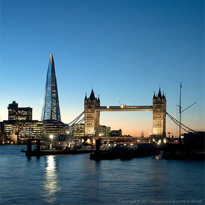 Shard Tower In London on Creative Workshop