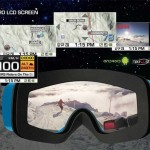 Ski Goggles with GPS, Android and Bluetooth