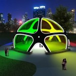 Solar Powered Prefab Party Pavilion